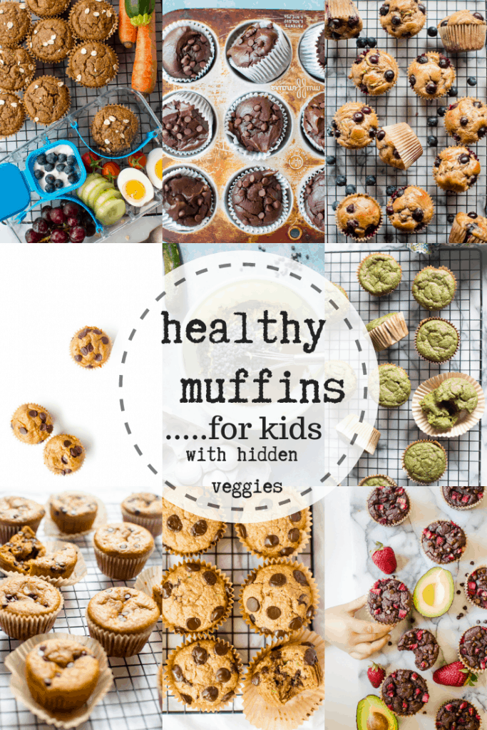 These are the best healthy muffin recipes for kids. Quick and easy to make and packed with hidden veggies #healthymuffins #healthykidrecipes #easyhealthymuffins
