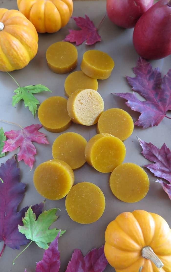 Pumpkin-Pear Gummies by A Squirrel In the Kitchen