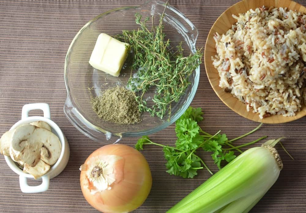 Wild Rice Stuffing from Super Healthy Kids