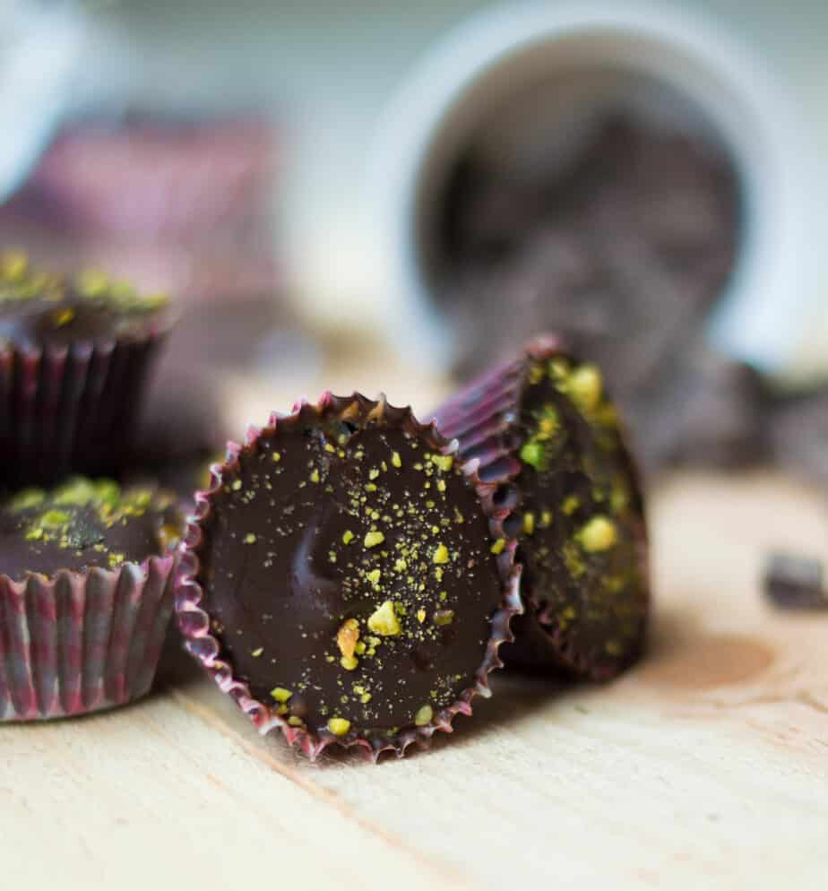 Chocolate Cashew Butter Cups by The Movement Menu