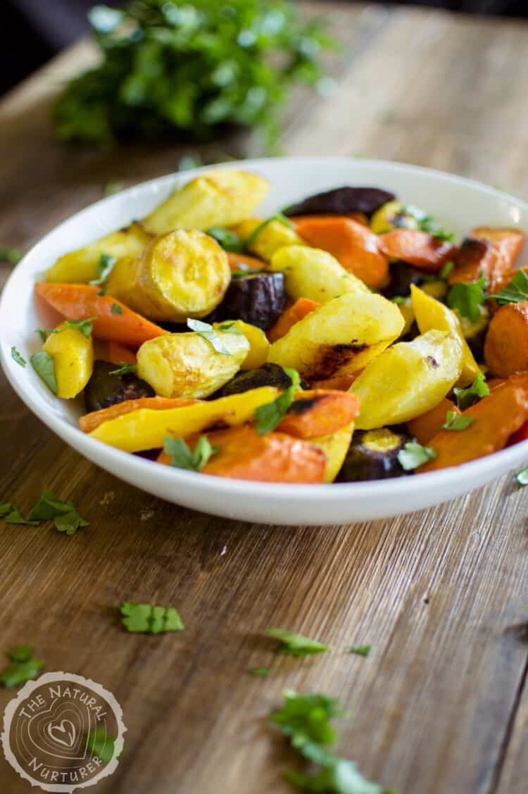 Turmeric Roasted Carrots