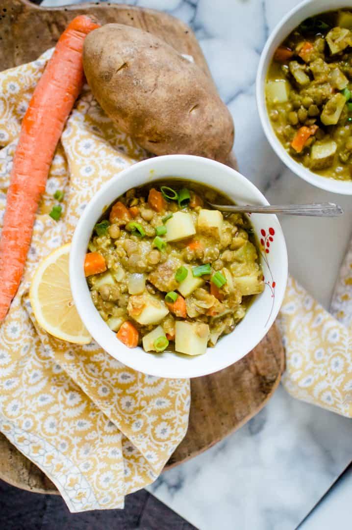 One-Pot Curry Lentil Soup