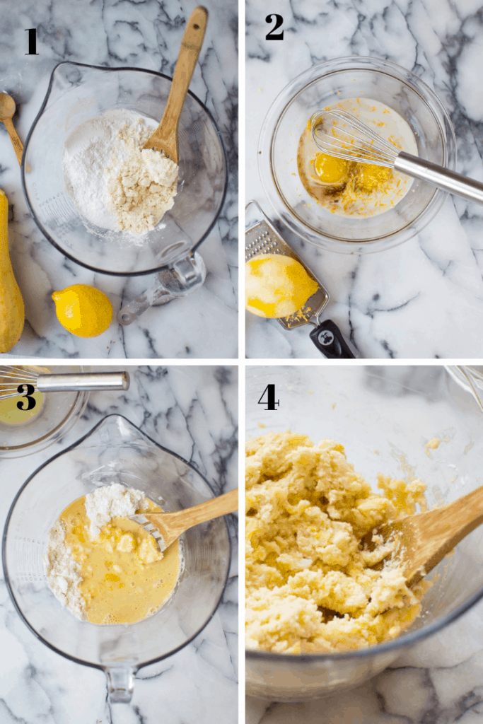 These Paleo Lemon Squash Scones are a flavor explosion! Easy to make, delicious, amazing texture, bright with lemon and surprisingly veggie-loaded with summer squash. Gluten free, dairy-free and nut-free option.