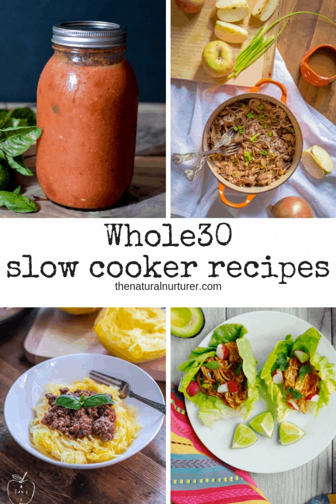 This list of Whole30 Slow Cooker Recipes is full of flavorful and easy meals to cooking near effortless! #whole30 #whole30slowcooker #whole30recipes