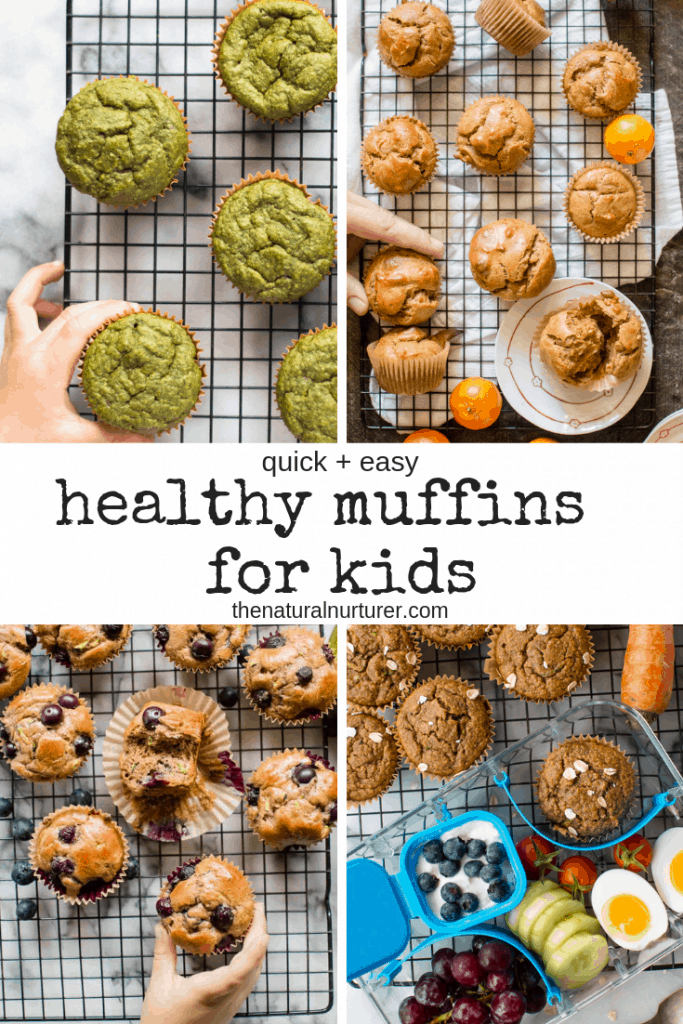 These are the best healthy muffin recipes for kids. Quick and easy to make and packed with real food ingredients! #healthymuffins #healthykidrecipes #easyhealthymuffins
