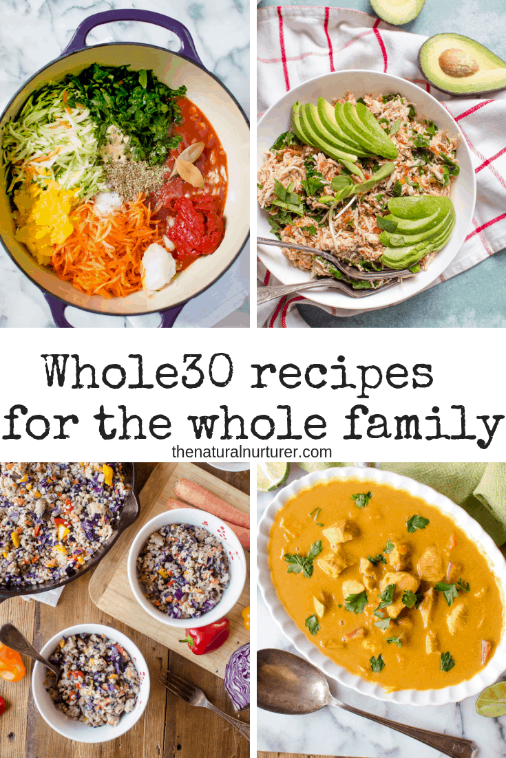 If you're looking for easy, simple Whole30 compliant recipes that the whole family will love, then you've come to the right place, because these are the BEST family-friendly Whole30 recipes there are!