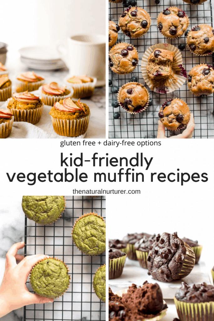 Kid Friendly Vegetable Muffins The Natural Nurturer