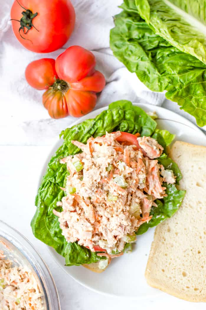 Healthy Tuna Salad With Added Veggies The Natural Nurturer